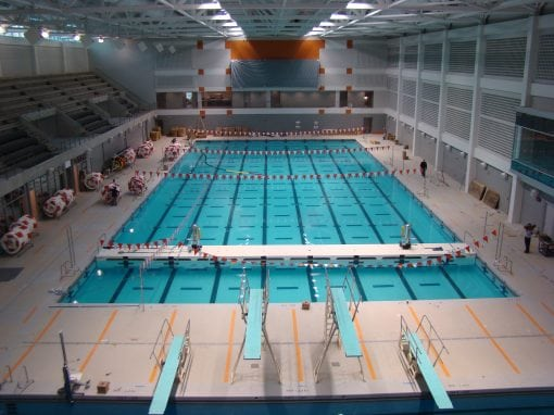 Allan Jones Aquatic Center, University of Tennessee